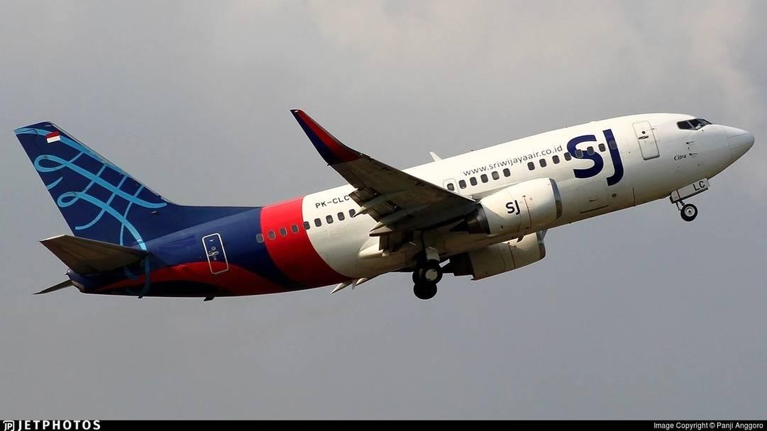 圖:印尼1架波音737客機在雅加達上空失聯
